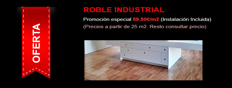 oferta madertec roble industrial